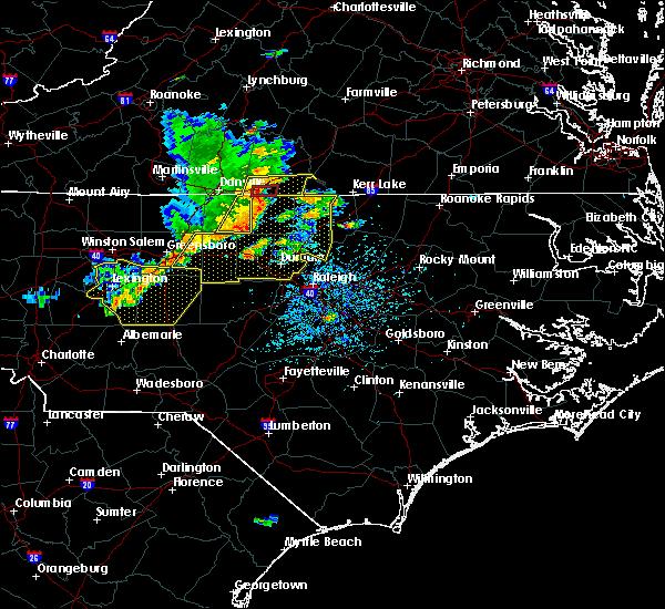Radar Image for Severe Thunderstorms near Cluster Springs, VA at 6/20/2019 2:48 PM EDT