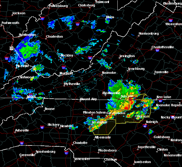 Radar Image for Severe Thunderstorms near High Point, NC at 6/20/2019 2:50 PM EDT