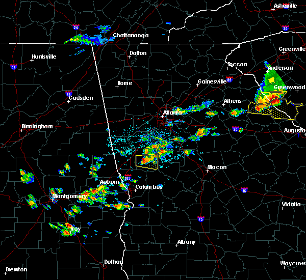 Radar Image for Severe Thunderstorms near Gay, GA at 6/20/2019 3:09 PM EDT