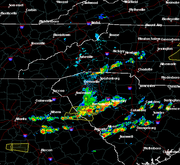 Radar Image for Severe Thunderstorms near Troy, SC at 6/20/2019 3:30 PM EDT