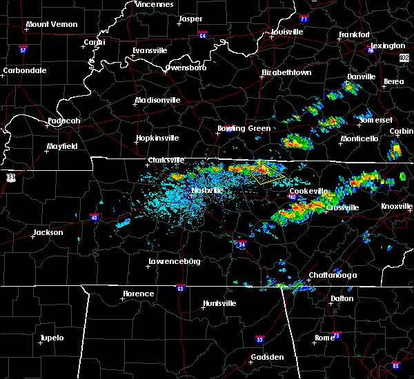 Radar Image for Severe Thunderstorms near Gainesboro, TN at 6/20/2019 2:46 PM CDT