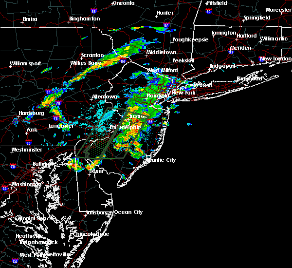 Radar Image for Severe Thunderstorms near Englishtown, NJ at 6/20/2019 4:09 PM EDT