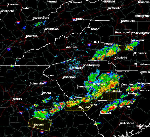 Radar Image for Severe Thunderstorms near Harrisburg, NC at 6/20/2019 4:18 PM EDT
