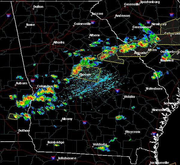 Radar Image for Severe Thunderstorms near Warrenton, GA at 6/20/2019 4:20 PM EDT