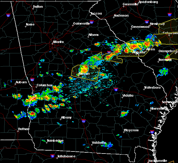 Radar Image for Severe Thunderstorms near Macon, GA at 6/20/2019 4:33 PM EDT