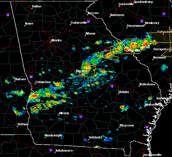 Radar Image for Severe Thunderstorms near Ivey, GA at 6/20/2019 4:44 PM EDT