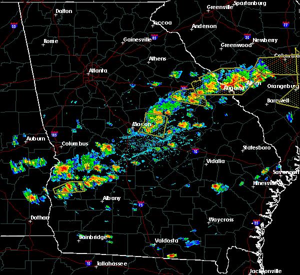 Radar Image for Severe Thunderstorms near Gordon, GA at 6/20/2019 4:53 PM EDT
