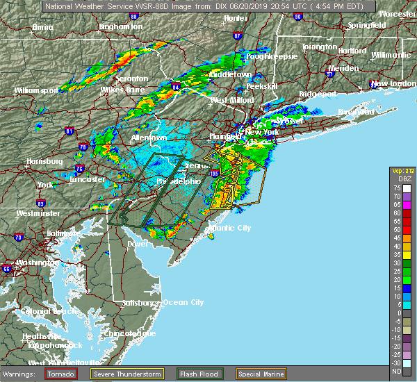 Interactive Hail Maps Hail Map For Keyport Nj