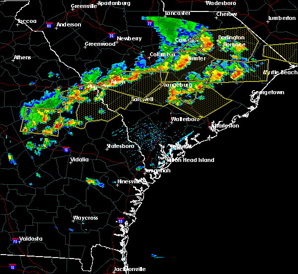 Radar Image for Severe Thunderstorms near Moncks Corner, SC at 6/20/2019 5:06 PM EDT