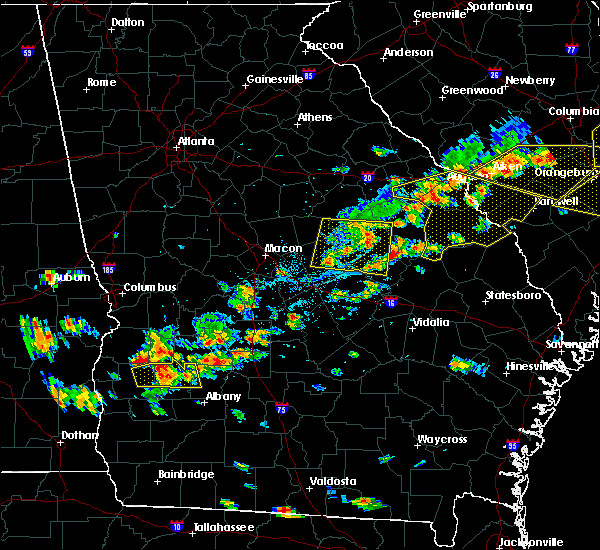 Radar Image for Severe Thunderstorms near Toomsboro, GA at 6/20/2019 5:13 PM EDT