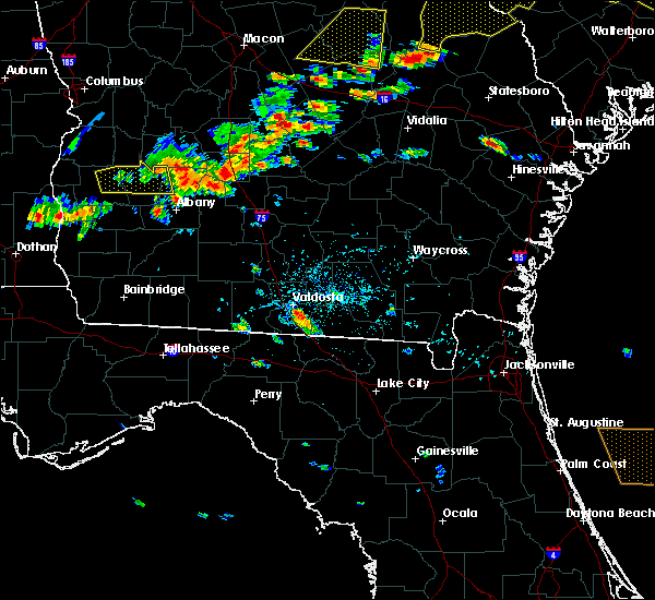 Radar Image for Severe Thunderstorms near Statenville, GA at 6/20/2019 5:51 PM EDT