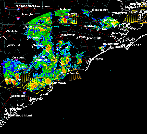 Radar Image for Severe Thunderstorms near Cerro Gordo, NC at 6/20/2019 6:06 PM EDT