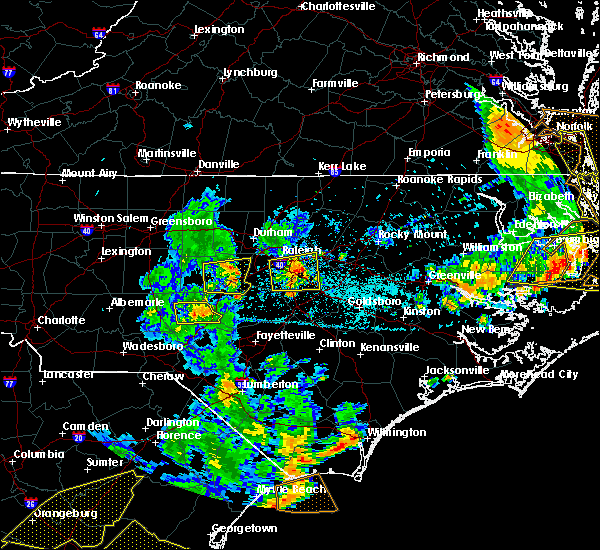 Radar Image for Severe Thunderstorms near Moncure, NC at 6/20/2019 6:24 PM EDT