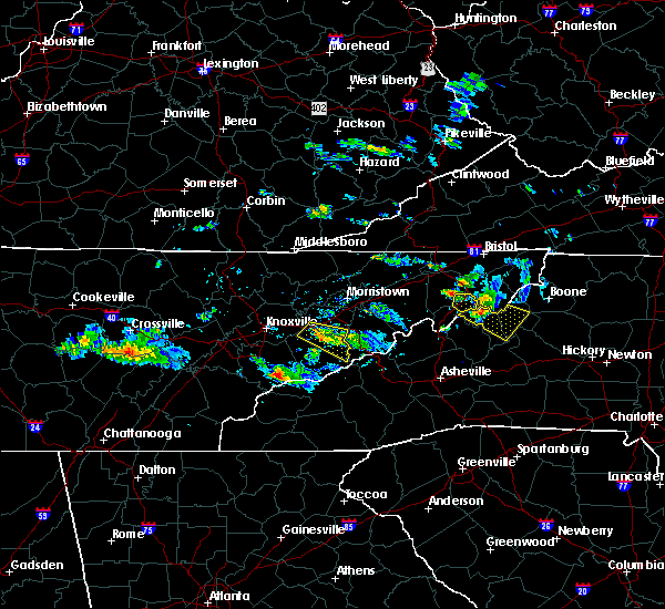 Radar Image for Severe Thunderstorms near Unicoi, TN at 6/20/2019 6:29 PM EDT
