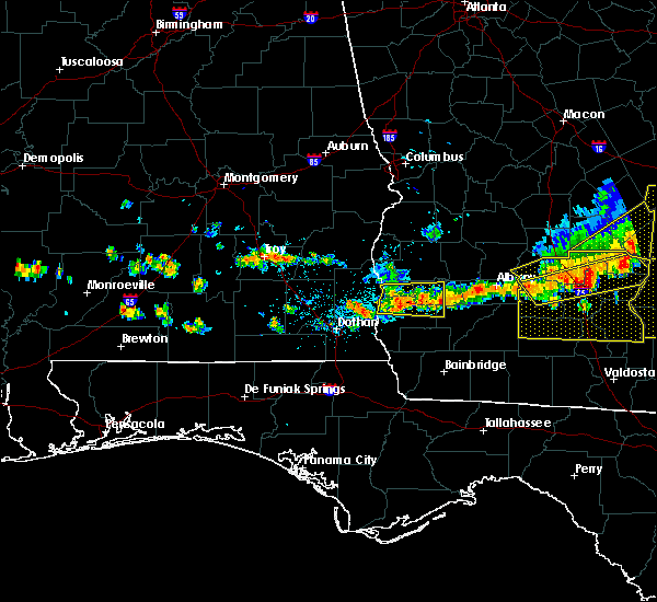 Radar Image for Severe Thunderstorms near Arlington, GA at 6/20/2019 6:31 PM EDT