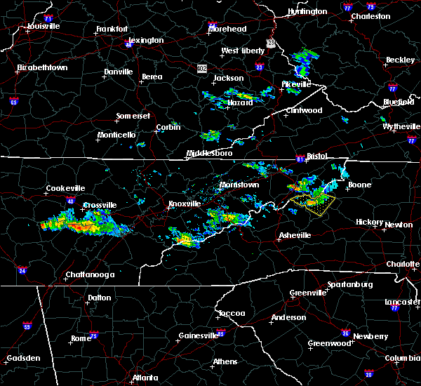 Radar Image for Severe Thunderstorms near Elk Park, NC at 6/20/2019 6:42 PM EDT