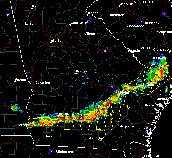 Radar Image for Severe Thunderstorms near Mount Vernon, GA at 6/20/2019 7:01 PM EDT