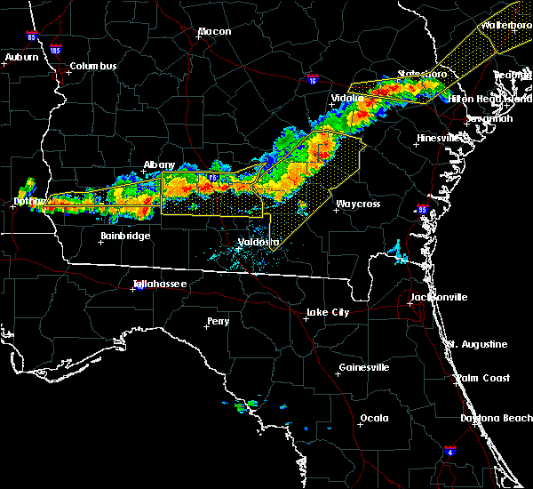 Radar Image for Severe Thunderstorms near Moultrie, GA at 6/20/2019 7:25 PM EDT