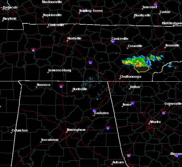 Radar Image for Severe Thunderstorms near Englewood, TN at 6/20/2019 7:32 PM EDT