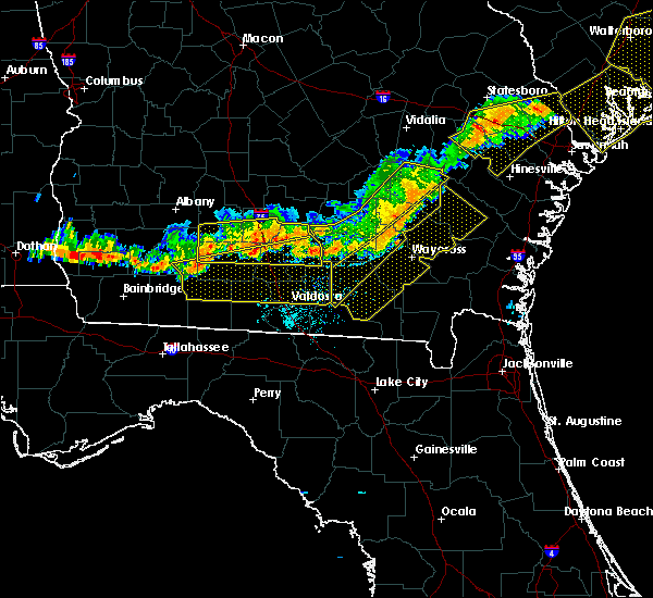 Radar Image for Severe Thunderstorms near Moultrie, GA at 6/20/2019 7:43 PM EDT