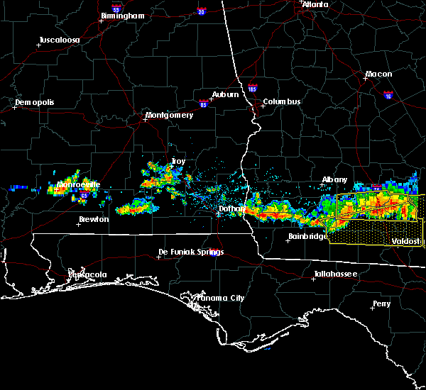 Radar Image for Severe Thunderstorms near Colquitt, GA at 6/20/2019 7:49 PM EDT