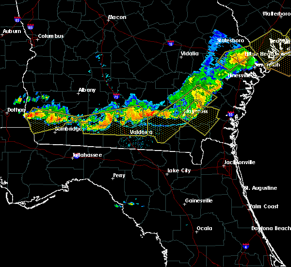 Radar Image for Severe Thunderstorms near Moultrie, GA at 6/20/2019 8:17 PM EDT