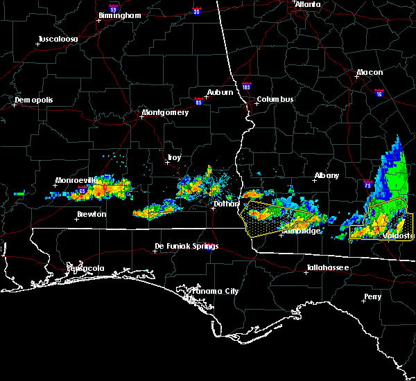 Radar Image for Severe Thunderstorms near Colquitt, GA at 6/20/2019 8:43 PM EDT
