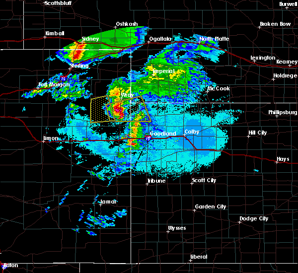 Radar Image for Severe Thunderstorms near St. Francis, KS at 6/20/2019 7:51 PM MDT