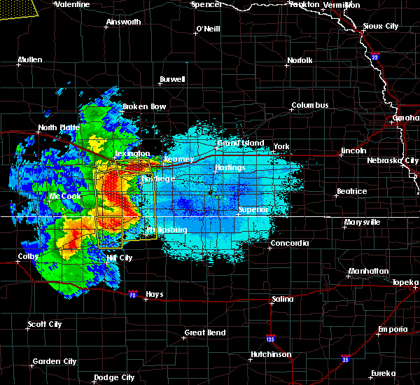 Radar Image for Severe Thunderstorms near Funk, NE at 6/20/2019 11:52 PM CDT