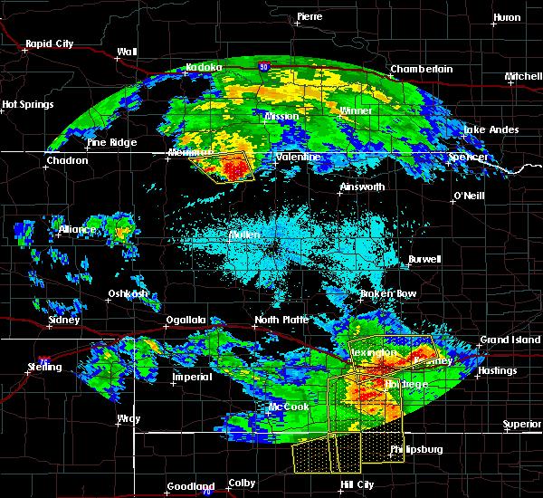 Radar Image for Severe Thunderstorms near Kilgore, NE at 6/20/2019 11:07 PM MDT