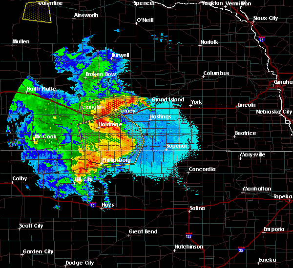 Radar Image for Severe Thunderstorms near Holstein, NE at 6/21/2019 12:38 AM CDT