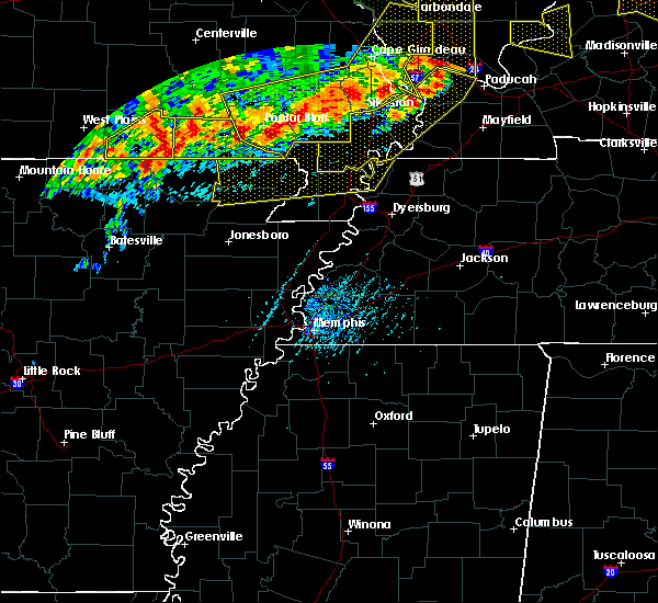 Radar Image for Severe Thunderstorms near Rector, AR at 6/21/2019 5:00 PM CDT