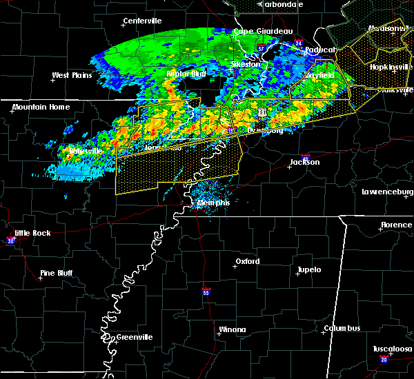 Radar Image for Severe Thunderstorms near Marie, AR at 6/21/2019 6:21 PM CDT