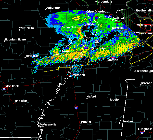 Radar Image for Severe Thunderstorms near Marie, AR at 6/21/2019 7:01 PM CDT