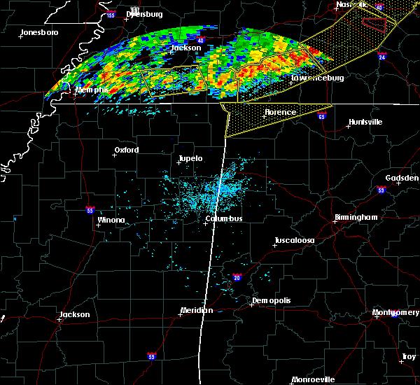 Radar Image for Severe Thunderstorms near Elkmont, AL at 6/21/2019 8:26 PM CDT
