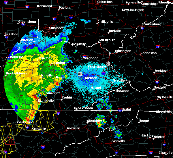 Radar Image for Severe Thunderstorms near Somerset, KY at 6/21/2019 10:20 PM EDT