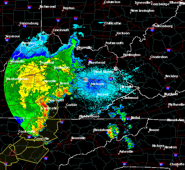 Radar Image for Severe Thunderstorms near Burnside, KY at 6/21/2019 10:32 PM EDT