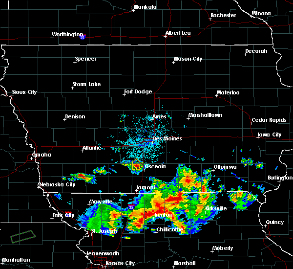 Radar Image for Severe Thunderstorms near Murray, IA at 6/21/2019 11:20 PM CDT
