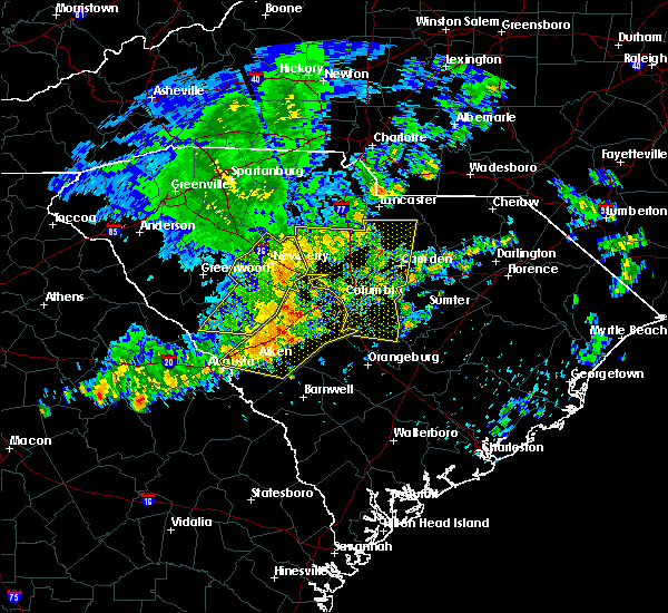 Radar Image for Severe Thunderstorms near Hopkins, SC at 6/22/2019 4:01 AM EDT
