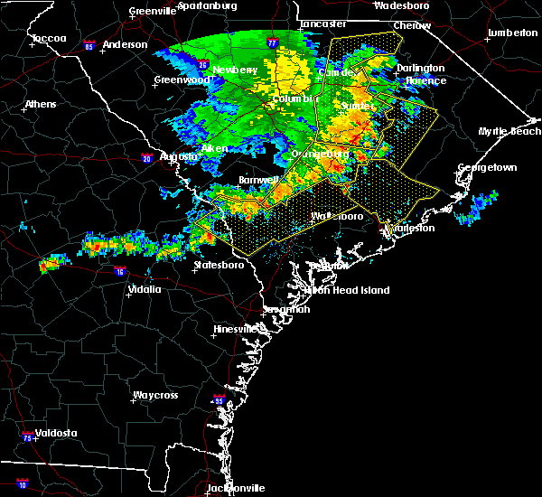 Radar Image for Severe Thunderstorms near Moncks Corner, SC at 6/22/2019 5:14 AM EDT