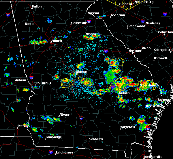 Radar Image for Severe Thunderstorms near Fort Valley, GA at 6/22/2019 3:27 PM EDT