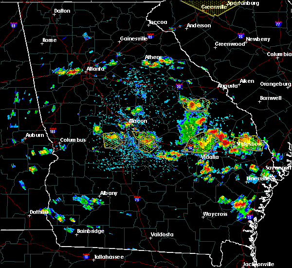 Radar Image for Severe Thunderstorms near Cochran, GA at 6/22/2019 3:31 PM EDT