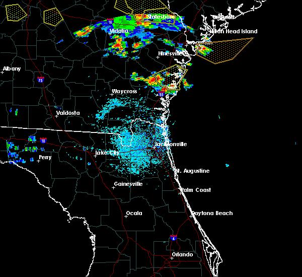 Radar Image for Severe Thunderstorms near Darien, GA at 6/22/2019 3:44 PM EDT