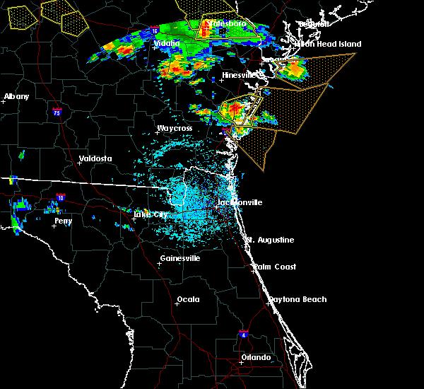 Radar Image for Severe Thunderstorms near Darien, GA at 6/22/2019 4:06 PM EDT