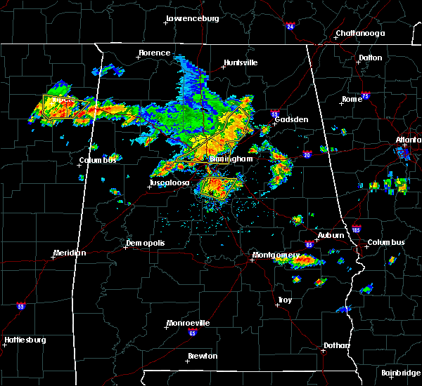 Radar Image for Severe Thunderstorms near Cleveland, AL at 6/22/2019 3:34 PM CDT