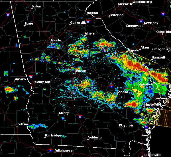 Radar Image for Severe Thunderstorms near Alston, GA at 6/22/2019 4:39 PM EDT