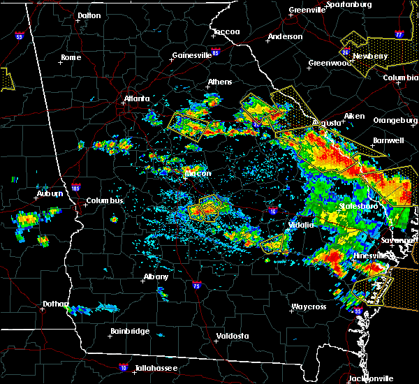 Radar Image for Severe Thunderstorms near Shady Dale, GA at 6/22/2019 4:49 PM EDT