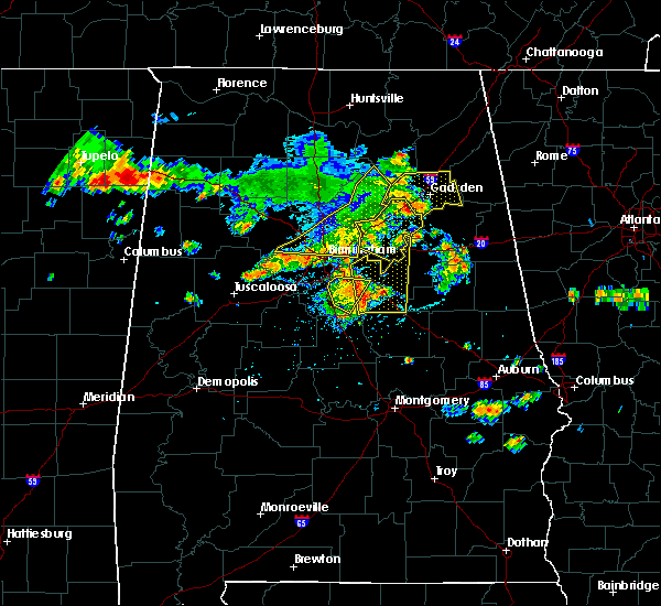 Radar Image for Severe Thunderstorms near Cleveland, AL at 6/22/2019 3:54 PM CDT