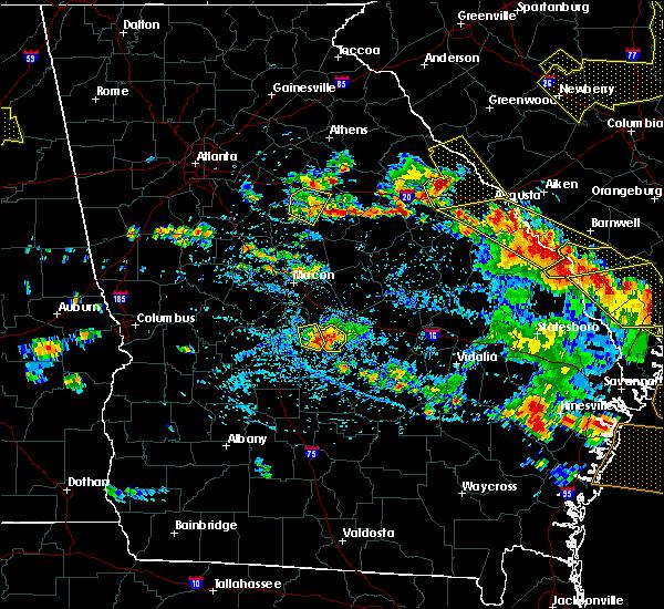 Radar Image for Severe Thunderstorms near Gray, GA at 6/22/2019 4:56 PM EDT
