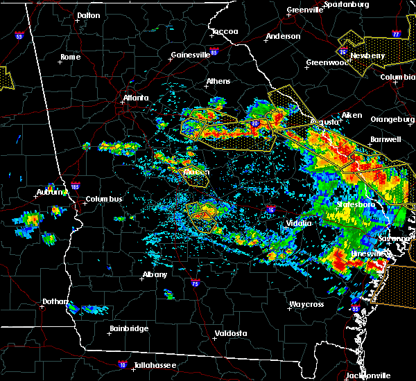 Radar Image for Severe Thunderstorms near Cochran, GA at 6/22/2019 5:02 PM EDT